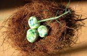 How to Build een Bird's Nest & koud porselein klei eieren (nieuwe recept!)