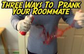 3 manieren om te prank je kamergenoot opeenvolgend