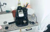 Maken van een hydrofoor portafilter voor een goedkope espressomachine