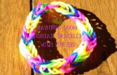 Rainbow Loom Fishtail op uw vingers