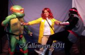 Teenage Mutant Ninja Turtles - Trifecta: Michelangelo TMNT Foot Soldier en April O'Neil