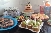 Party tafel en huis decoratie idee: Halloweenfeest