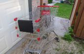 Shopping Cart fiets aanhangwagen
