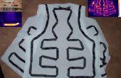 DIY koolstof tape verwarmd vest