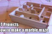 Hoe maak je een marmeren doolhof/doolhof