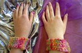 BFF Bands - eenvoudige, snelle, iedereen kan het doen! Loomless geweven armbanden