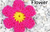 Hoe haak een zes-Petal bloem