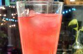 Granaatappel groene thee Limeade - iced drankje, ijsblokjes of ijslollys