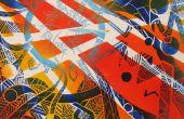 Linoleum blok / prentkunst