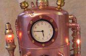 Steampunked tijd reizen machine