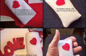 Een hart Themed Hand Warmer