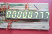 5 & 8 cijferige Arduino teller