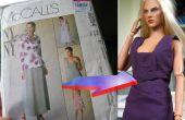Vertalen van een patroon van kleding tot pop proporties