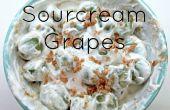 Bruine suiker Sourcream druiven