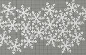 Sneeuw vormige Ornament