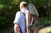 Gouden Prospecting - rugzak sluis van gevonden materialen