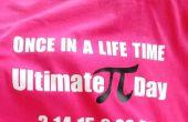 PI dag Shirts maken voor het gezin