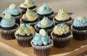 Hoe vorstschade mooie Cupcakes