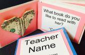 Kind favorieten: een leraar waardering Gift