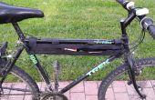 Gewaxt Canvas wirwar tas voor fiets