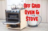 Draagbaar Off Grid Oven & kachel
