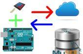 Hoe om te laten communiceren van de Arduino met toetsenbord aan MySQL DB.