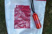Deze duurzame tas, of strandtas uit een zak leeg hond eten maken.
