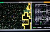 Dwerg Fort in een tekst enige omgeving (Ubuntu) (geen geluid)