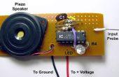 Spanning sonde met Toon en LED uitgangen