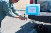 Hoe zet uw afhankelijkheid (d. w. z. Aqua-Pak, Aqua-Tainer etc.) busje in een efficiënte wassen Station