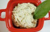 Rauwe veganist kaas recept
