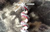 Upcycled kerst ornament