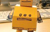 Instructables officiële Papercraft Robot!
