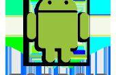 Verberg bestanden in android