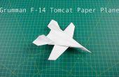 Hoe te vouwen van papier vliegtuig: F14 straaljager