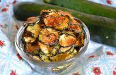Gezond en Snackable Zucchini Chips