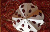 Snowflake Ornament papier