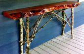 Sofa Table, teruggewonnen hout