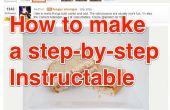 Hoe maak je een stapsgewijze Instructable