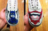 Canvas schoenen!