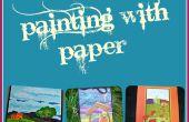 Schilderen met papier