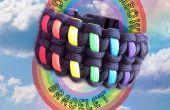 Dubbele regenboog armband
