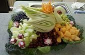 Hoe te snijden van groenten voor een middelpunt