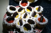 Superbowl team cupcakes!