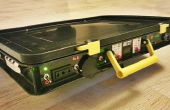 Alles in een Portable Solar Power Unit: 220V + 12V + 5V + automatische batterij opladen! ;)