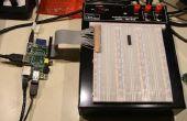 Raspberry Pi GPIO uitbreiding kabel van een IDE-kabel gebruikt