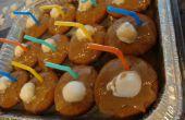 Root bier Cupcakes met glazuur Root Beer