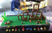 Speelbare Angry Bird Cake - verjaardag editie