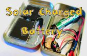 Laad een batterij met een Motor of een zonnepaneel!