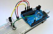 Eenvoudige IR sensor van de nabijheid met Arduino